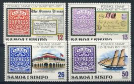 Samoa, michel 358/61, xx