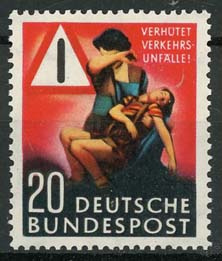 Bundespost, michel 162, xx