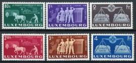 Luxemburg, michel 478/83, x