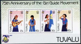 Tuvalu, michel blok 13, xx