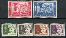 Belgie, obp 955/60, xx