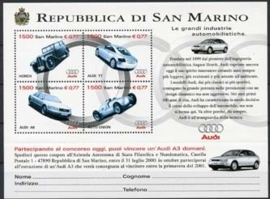 San Marino , michel blok 26 , xx
