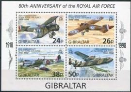 Gibraltar , michel blok 33 , xx