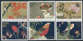 Japan, michel 2587/92, xx