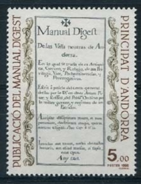 Andorra Fr., michel 373, xx