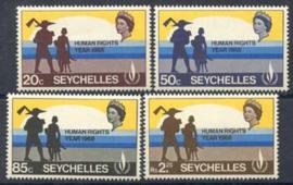 Seychelles, michel 246/49, xx