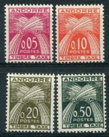 Andorra Fr., michel p 42/45, xx