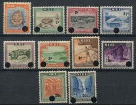 Niue , michel 87/96, xx