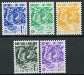 N.Caledonie, michel 892/96, xx