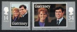 Guernsey, michel 361/62, xx