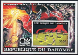 Dahomey, michel blok 23A, xx