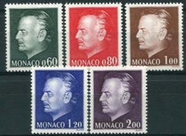 Monaco, michel 1143/47, xx