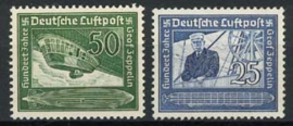 Duitse Rijk, michel 669/70, xx