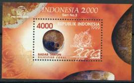 Indonesie, zbl. blok 166, xx