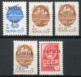 Letland, michel 335/39, xx