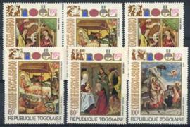 Togo, michel 954/59, xx