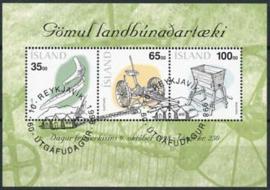 IJsland, michel blok 22, o