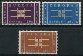 Cyprus, michel 225/27, xx