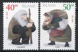 IJsland, michel 967/68, xx