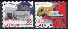 Letland, michel 861/62, xx