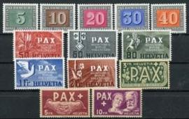 Zwitserland, michel 447/59, xx