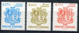 Andorra Sp., michel 307/09, xx