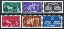 Luxemburg, michel 478/83, xx