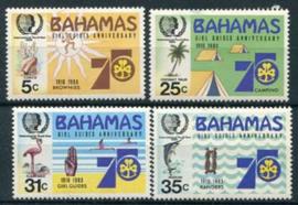 Bahamas, michel 586/89, xx