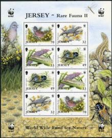 Jersey, michel kb 1143/46, xx