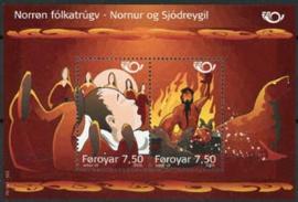Faroer, michel blok 19, xx