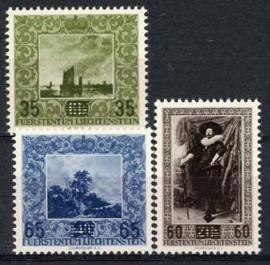 Liechtenstein, michel 326/28, xx