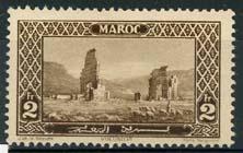 Marokko, michel 35, x