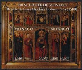 Monaco, michel blok 80, xx