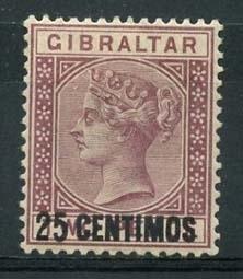 Gibraltar , michel 17 , x