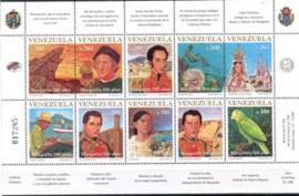 Venezuela, michel kb 3187/96, xx