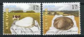 Litouwen, michel 871/72, xx