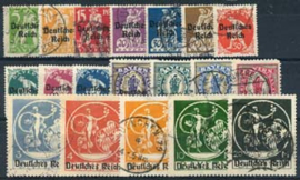 Duitse Rijk, michel 119/38, o