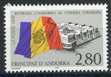 Andorra Fr., michel 487, xx