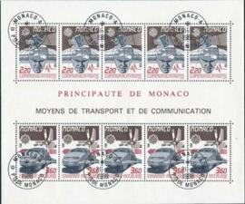 Monaco, michel blok 39, o