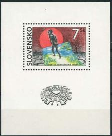 Slowakije, michel blok 5, xx