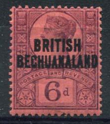 Bechuanaland, michel 43, x