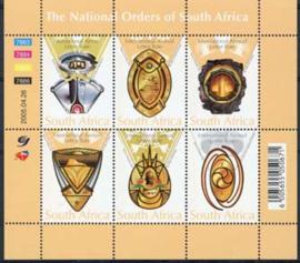 Z.Afrika, michel kb 1635/40, xx