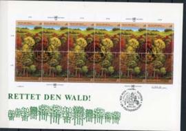 V.N.Wenen, FDC met michel 81/82,