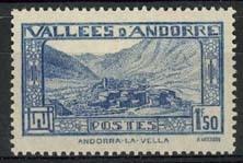 Andorra Fr., michel 41, x
