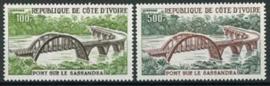 Ivoorkust, michel 447/48, xx