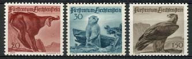 Liechtenstein, michel 253/55, xx