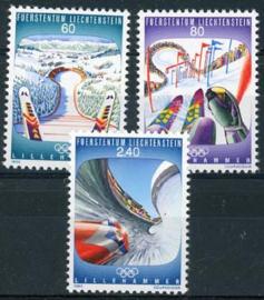 Liechtenstein, michel 1076/78, xx
