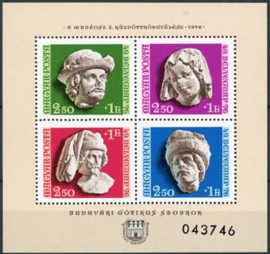 Hongarije, michel blok 118 A, xx
