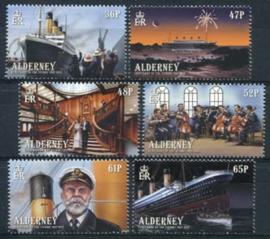 Alderney, michel 434/39, xx
