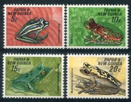 Papua N.Guinea, michel 131/34, xx